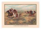 U.S. Army Pursuing Indians, 1876 Wall Decal by Arthur Wagner