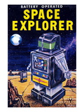 Space Explorer Wall Decal