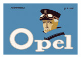Opel Automobile Wall Decal by Hans Rudi Erdt