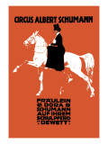 Circus Albert Schumann Wall Decal