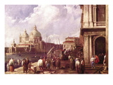 Venetian Piazza Wall Decal by Canaletto 