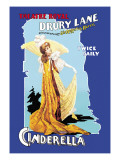Cinderella at the Theatre Royal Drury Lane Wall Decal by Arthur Benjamin Helsby