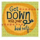 Get Down - Duvar Çıkartması