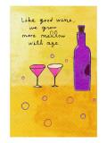 Wine and Aging Veggoverføringsbilde