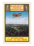 Dayton, Ohio Welcomes the Wright Brothers Wall Decal