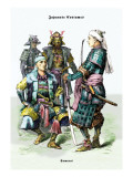 Japanese Costumes: Samurai Wall Decal