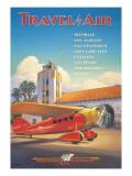 Western Air Express Adhésif mural par Kerne Erickson