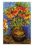 Fritillaries Wall Decal by Vincent van Gogh