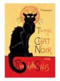 Tournee du Chat Noir Avec Rodolptte Salis Wall Decal by Thophile Alexandre Steinlen