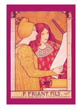 P. Friant Fils Wall Decal by Paul Berthon