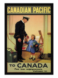 Canadian Pacific to Canada Wall Decal