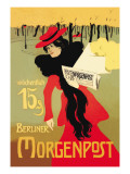 Berliner Morganpost Wall Decal by Howard Pyle