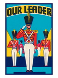 Our Leader Broom Label Wall Decal