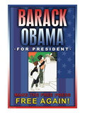 Barack Obama, Make the Free Press Free Again Wall Decal