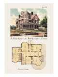 Residence at Bridgeport, Connecticut Wall Decal