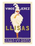 Vinos Jerez Llisas Wall Decal
