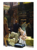 The Gallery Wall Decal by Sir Lawrence Alma-Tadema