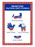 Political Symbol Rejects Wall Decal