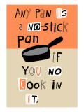 Non-Stick Pan Wall Decal