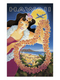 Hawai Vinilo decorativo por Kerne Erickson