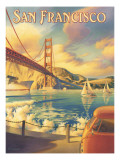 San Francisco Wall Decal by Kerne Erickson