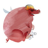 If Pigs Could Fly Wallstickers