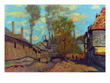 The Stream of Robec Wall Decal by Claude Monet