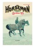 The Horseman, Christmas 1903 Wall Decal