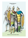 Roman Costumes: Warriors of the West Roman Empire Wall Decal
