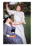 Young Woman Picking Fruit Wall Decal by Mary Cassatt