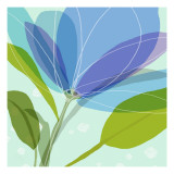 Abstract Flower Autocollant mural