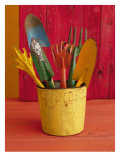 Gardening in Colors Wall Decal