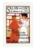 Salon des Cent Wall Decal