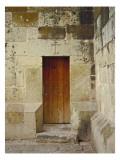 Wooden Church Door Wall Decal