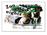 Zoo Nights Wall Decal