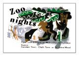 Zoo Nights Wall Decal