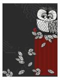 Retro Owl Wall Decal