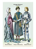 German Costumes, Wall Decal