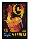 Fallas de San Jose Valencia Wall Decal