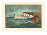 First Class Cruisers, 1899 Wall Decal by  Werner