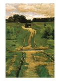 Open Land Wall Decal by Childe Hassam
