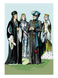 Henry VII and Barron of Suffolf Wall Decal by Richard Brown