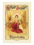 Chocolate Amatller: Barcelona, 1902 Wall Decal