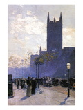 Lower Fifth Avenue Wall Decal by Childe Hassam