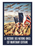La Victoire des Nations Unies Wall Decal
