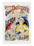 Grande Patisserie Lisboa Wall Decal by Charles Gesmar