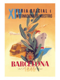 XIV Official International Model Fair in Barcelona Wall Decal by Martinez Bigorda