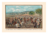 General Toral's Surrender of Santiago to General Shafter, July 13, 1898 Wall Decal by Arthur Wagner