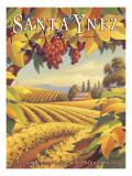 Santa Ynez Valley Wall Decal by Kerne Erickson