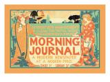 Morning Journal, A Modern Newspaper Wall Decal